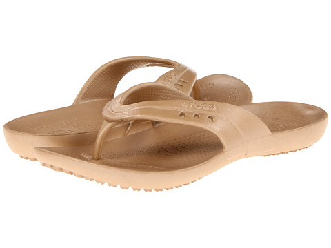 Sandale Crocs - Kadee Flip-Flop - Gold