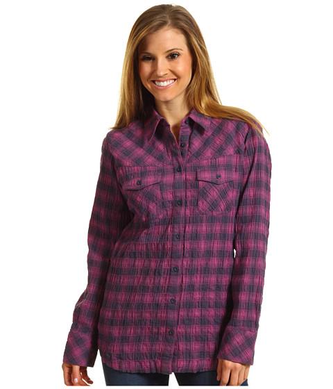 Camasi Patagonia - L/S Highlands Shirt - Featherweight/Rubellite Pink