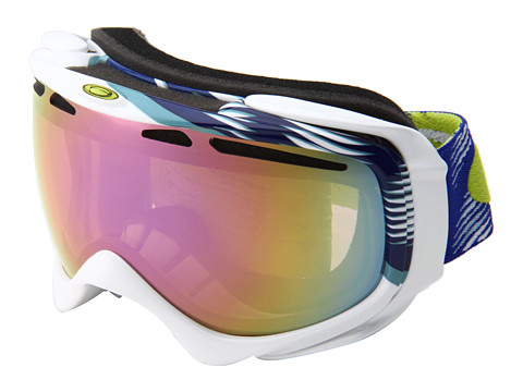 Ochelari Oakley - Elevate \12 Alternative Fit - Elevate Snow Traction Blue w/VR50 Pink