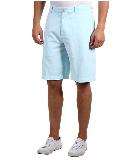 Pantaloni IZOD - Oxford Flat Front Short - Blue Radiance