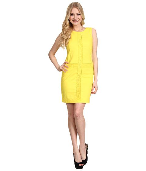 Rochii Jessica Simpson - Tank Lace Dress - Yellow