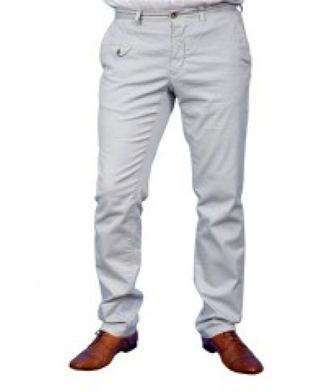 Pantaloni Bigotti - Pantalon Casual Barbati VEPNCOVN9032799922 - Gri Deschis