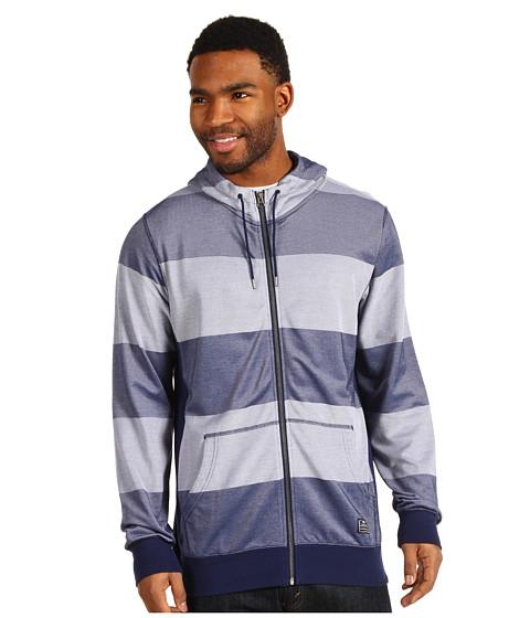 Bluze Nike - Blocker Stripe Full-Zip Hoodie - Midnight Navy