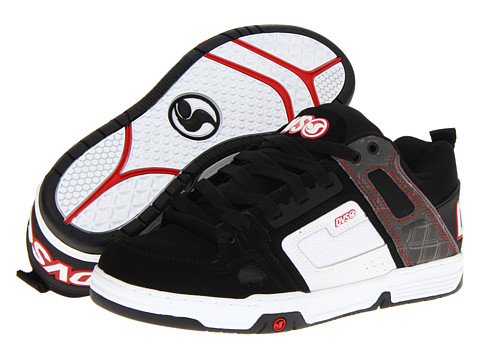 Adidasi DVS Shoe Company - Comanche - Black/White Nubuck