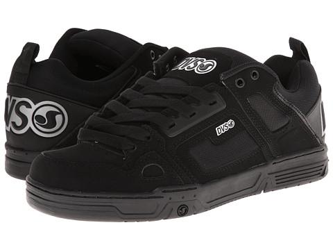 Adidasi DVS Shoe Company - Comanche - Black/Silver Nubuck