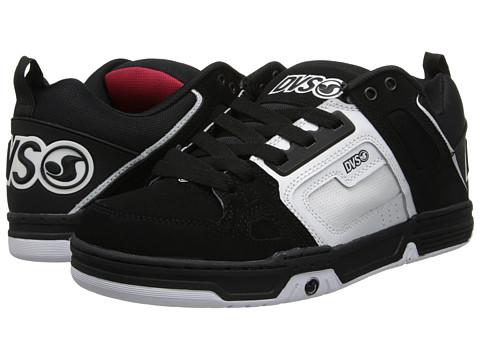 Adidasi DVS Shoe Company - Comanche - Black/White/Grey Nubuck