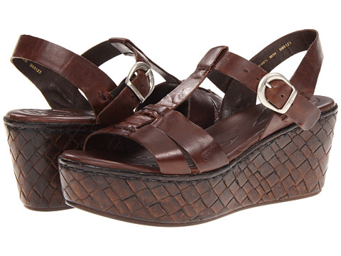 Sandale Born - Menuda - Espresso (Dark Brown) Full Grain Leather