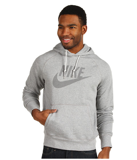 Bluze Nike - HBR French Terry Washed OTH Hoodie - Dark Grey Heather/Medium Grey