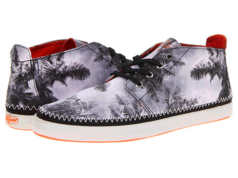 Ghete Sperry Top-Sider - Drifter Chukka - Black/White Print