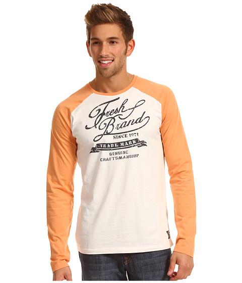 Tricouri Fresh Brand - Baseball Tee E3TF102 - Peach