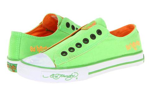 Adidasi Ed Hardy - Low Rise Neon - Neon Green