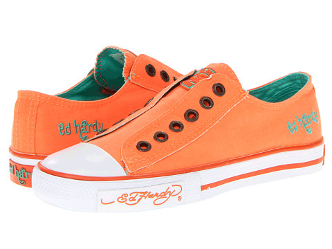 Adidasi Ed Hardy - Low Rise Neon - Neon Orange