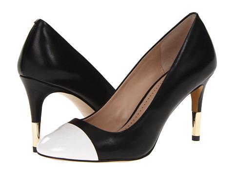 Pantofi Pour La Victoire - Elie - Black/White Napa Patent