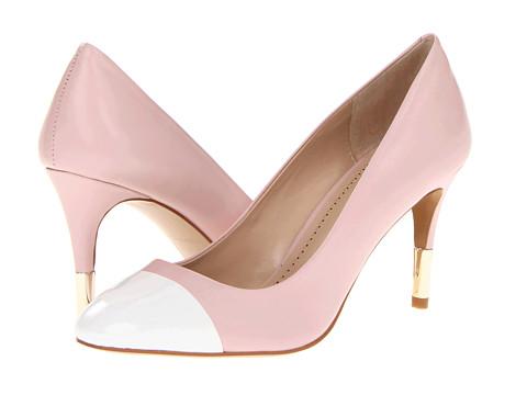 Pantofi Pour La Victoire - Elie - Pink/White Napa Patent