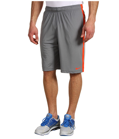 Pantaloni Nike - Fly Camo Grid Short - Cool Grey/Team Orange/Team Orange