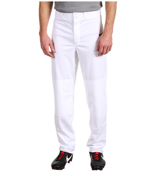 Pantaloni Nike - Core Open Hem Pant - White/Black