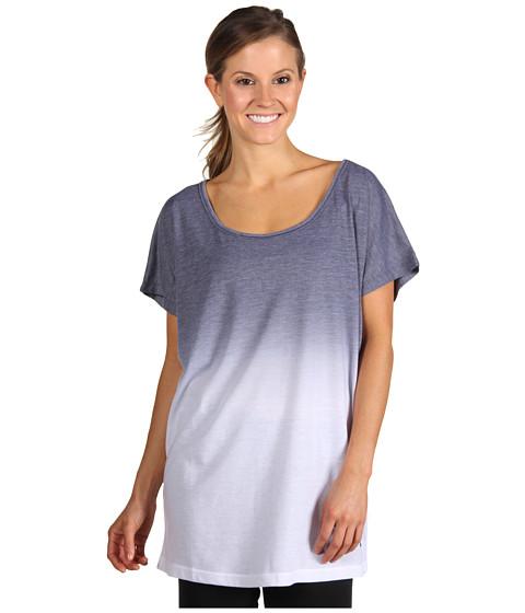 Tricouri Nike - Dip Dye One Size Yoga Tee - White/Anthracite/Anthracite