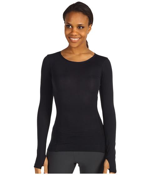 Bluze Nike - Harmony Slim L/S Yoga Top - Black/Black