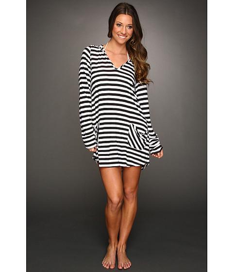 Rochii Ella Moss - Portofino Cover Up Hooded Tunic - Black