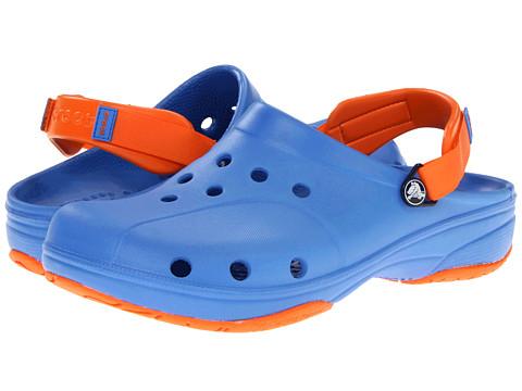 Sandale Crocs - Ace Boating - Unisex - Varsity Blue/Orange