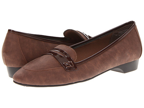 Balerini Annie - Alfie - Brown Nubuck/Brown Pat