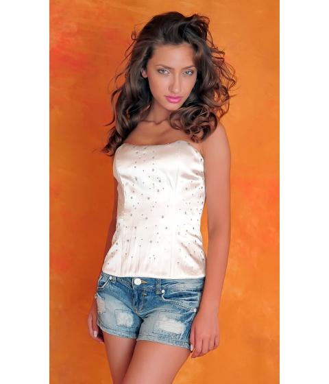 Bluze Sevy - Corset Crystal Clear - Universala