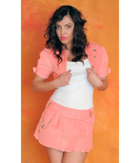 Sacouri Sevy - Bolero Pink Passion - Universala