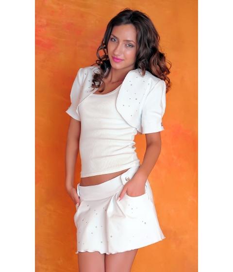 Sacouri Sevy - Bolero White Passion - Universala