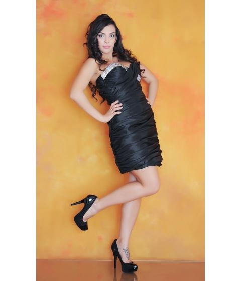 Rochii Sevy - Rochie Folded Sequins - Universala