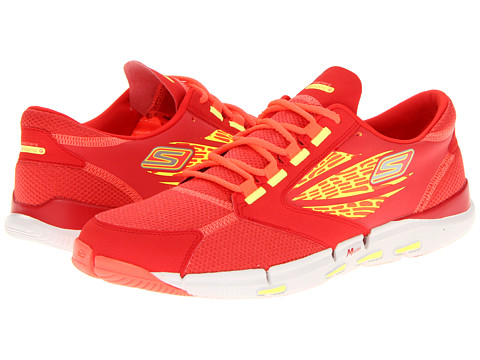 Adidasi SKECHERS - GObionic Ride - Red/Lime