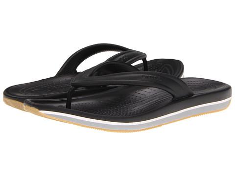 Sandale Crocs - Retro Flip Flop - Black/Light Grey