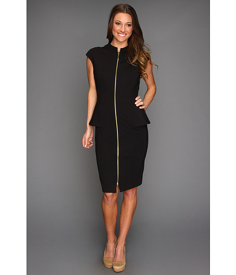 Rochii elegante: Rochie Ted Baker - Siona Seam Detailed Contoured Dress - Black
