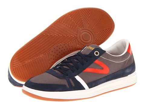 Adidasi Tretorn - Rödlera Canvas - Gunmetal/Orange.com