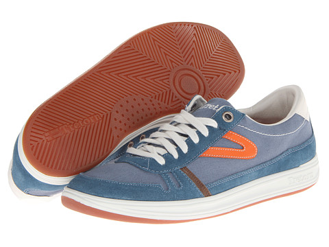 Adidasi Tretorn - Rödlera Canvas - Mallard Blue/Mandarin Orange