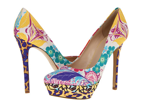 Pantofi Nine West - Sprout - Yellow South Beach Combo