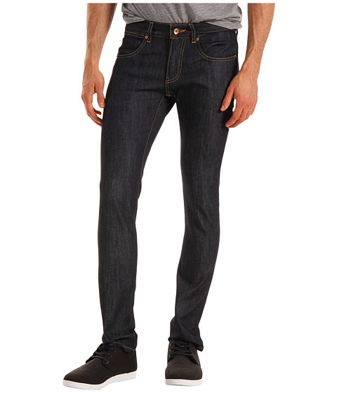 Blugi KR3W - Skinny Denim in Raw Blues - Raw Blues