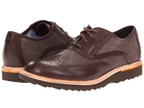 Adidasi Rockport - Union Street Wing Ox - Coach/Dark Brown