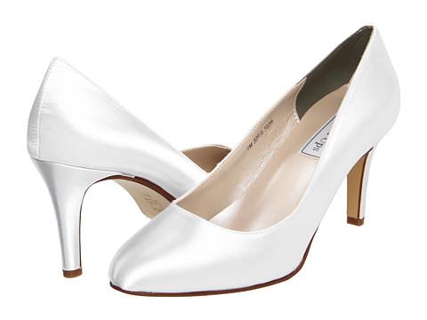 Pantofi Touch Ups - Sandra - White Satin