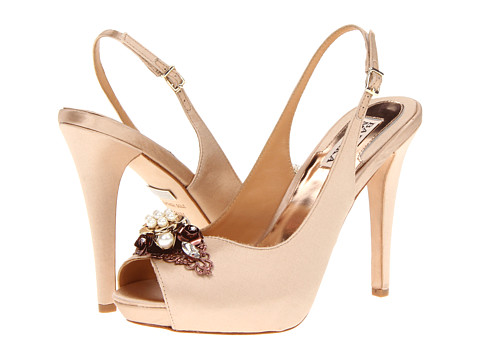 Pantofi Badgley Mischka - Anita - Natural