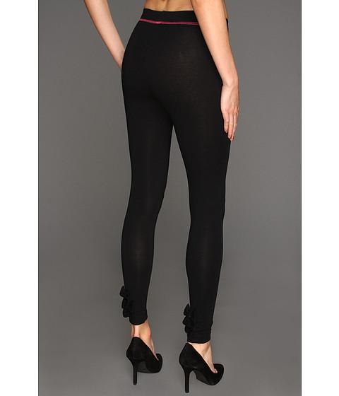 Pantaloni Betsey Johnson - Baby Bows Cut & Sew Legging - Black