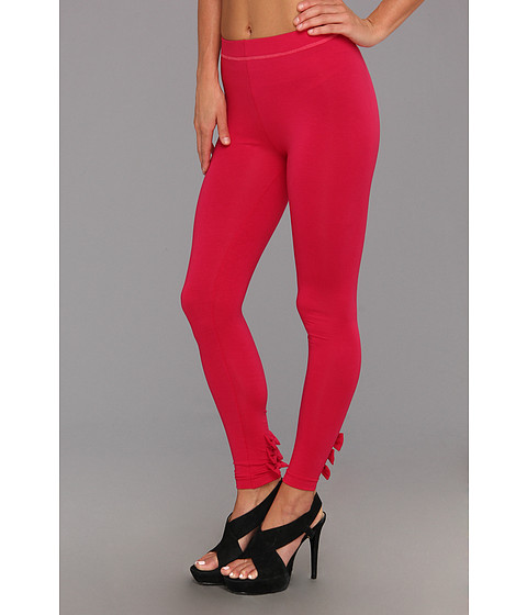 Pantaloni Betsey Johnson - Baby Bows Cut & Sew Legging - Raspberry Macbeth