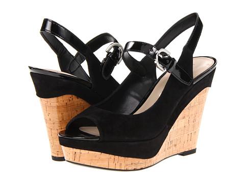 Sandale Franco Sarto - Roxanne - Black Suede/Patent