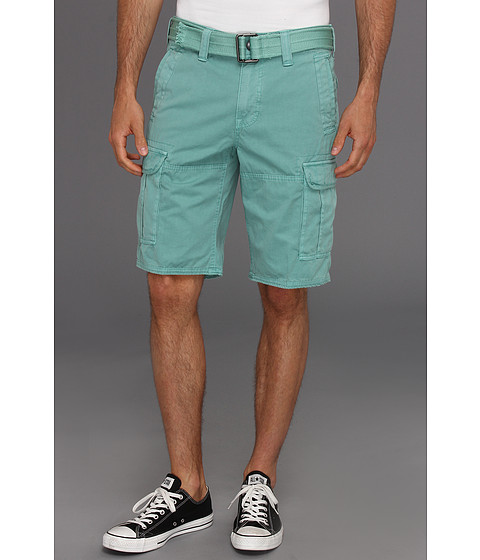 Pantaloni DKNY - Overdyed Canvas Cargo Shorts - Fiesta