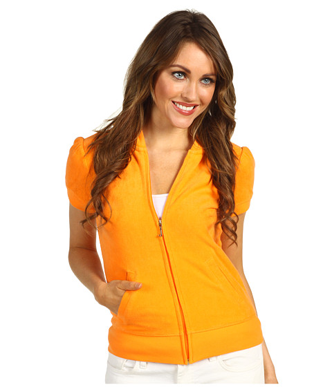Bluze Juicy Couture - Terry S/S Jacket - Tangerine