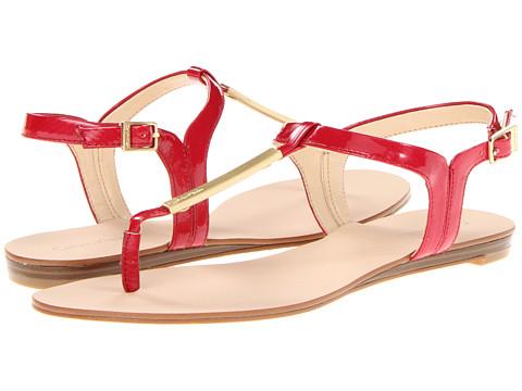 Sandale Calvin Klein - Samira - Red New Patent Lizard