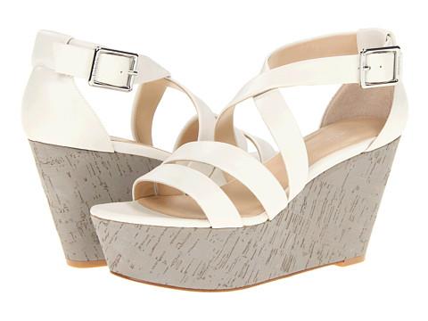 Sandale Calvin Klein - Vonnie - White Shiny S Nappa
