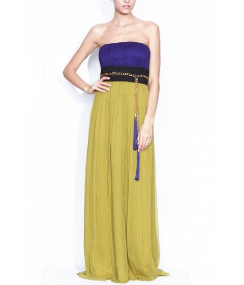 Rochii elegante: Rochie Nissa - Rochie Rs308 - Mov/Verde