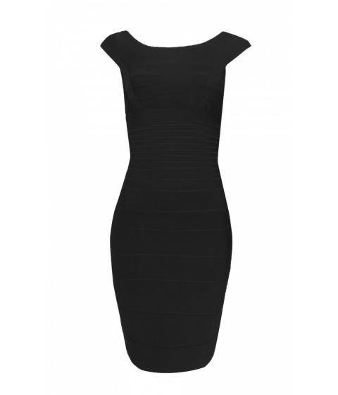 Rochii elegante: Rochie Nissa - Rochie EXR062B - Negru