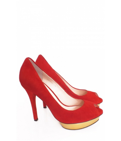 Pantofi Nissa - Pantofi EXPA21111 - Rosu
