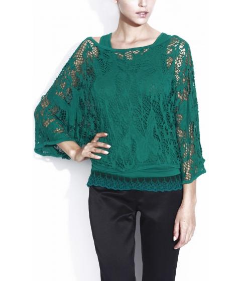 Bluze Nissa - Bluza Exb007 - Verde